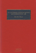 Cover of EC Electronic Communications and Competition Law