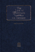 Cover of The Law of Contracts