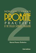 Cover of Non-Contentious Probate Practice in the English-Speaking Caribbean