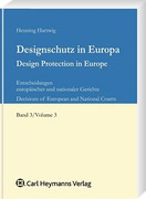 Cover of Design Protection in Europe: Decisions of European and National Courts Volume 3
