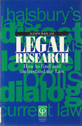 Cover of Legal Research: How to Find and Understand the Law