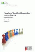 Cover of Taxation of Specialised Occupations and Professions