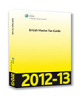 Cover of CCH British Master Tax Guide 2012-13