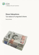 Cover of Share Valuations: Tax Values of Unquoted Shares