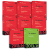 Cover of Bundled Set: CCH The Red and Green Tax Books 2013-14