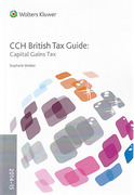 Cover of CCH British Tax Guide: Capital Gains Tax 2014-15
