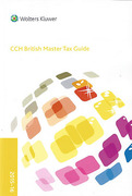 Cover of CCH British Master Tax Guide 2015-16