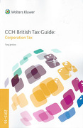 Cover of CCH British Tax Guide: Corporation Tax 2015-16