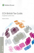 Cover of CCH British Tax Guide: Capital Gains Tax 2015-16
