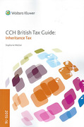 Cover of CCH British Tax Guide: Inheritance Tax 2015-16