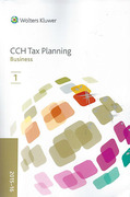Cover of CCH Tax Planning: Business 2015-16