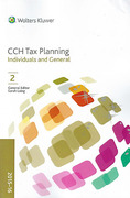 Cover of CCH Tax Planning: Individuals and General 2015-16
