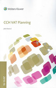 Cover of CCH VAT Planning 2015-16
