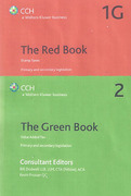 Cover of Bundled Set: CCH The Red and Green Tax Books 2015-16