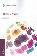 Cover of CCH Tax on Property 2015-16