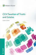 Cover of CCH Taxation of Trusts and Estates 2015-16