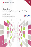 Cover of Charities: A CCH Industry Accounting and Auditing Guide