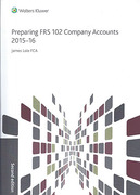 Cover of Preparing FRS 102 Company Accounts 2015-16