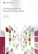 Cover of CCH Preparing FRS 105 Accounts for Micro-entities