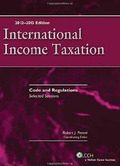 Cover of International Income Taxation: Code and Regulations - Selected Sections