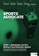 Cover of World Sports Advocate: Print + Single-User Online Access