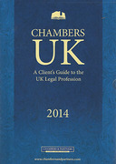 Cover of Chambers UK: A Client's Guide to the UK Legal Profession 2014