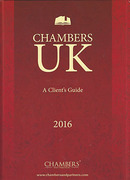Cover of Chambers UK: A Client's Guide to the UK Legal Profession 2016