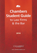 Cover of Chambers Student Guide: The Student's Guide to Law Firms and the Bar 2016