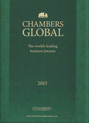Cover of Chambers Global 2015: The World's Leading Business Lawyers