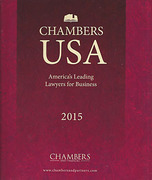 Cover of Chambers USA: America's Leading Lawyers for Business 2015 The Client's Guide