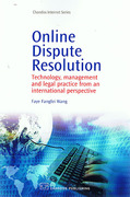 Cover of Online Dispute Resolution: Technology, Management and Legal Practice from an International Perspective