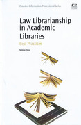 Cover of Law Librarianship in Academic Libraries: Best Practices
