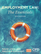 Cover of Employment Law: The Essentials