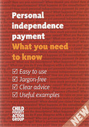 Cover of CPAG: Personal Independence Payment: What You Need to Know