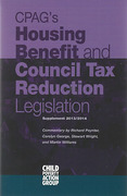 Cover of CPAG: Housing Benefit and Council Tax Benefit Legislation 2013/2014 Supplement