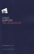 Cover of CPAG: Child Support: The Legislation 2015/2016