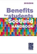 Cover of CPAG: Benefits for Students in Scotland Handbook: 2015/16
