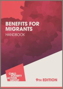 Cover of CPAG: Benefits for Migrants Handbook