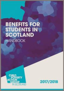 Cover of CPAG: Benefits for Students in Scotland Handbook: 2017/18