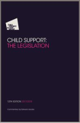 Cover of CPAG: Child Support: The Legislation