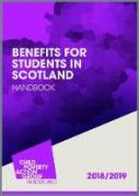 Cover of CPAG: Benefits for Students in Scotland Handbook: 2018/19