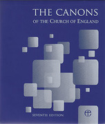Cover of Canons of the Church of England