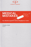 Cover of Medical Mistakes: Key Medical Issues in Clinical Negligence Cases
