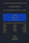 Cover of EU Competition Law Volume IV: State Aid