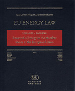 Cover of EU Energy Law Volume III Book Two: Renewable Energy in the Member States of the EU Looseleaf
