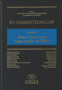 Cover of EU Competition Law Volume V: Abuse of Dominance Under Article 102 TFEU