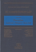 Cover of EU Competition Law Volume I: Procedure - Antitrust - Merger - State Aid