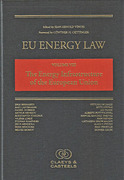 Cover of EU Energy Law Volume VIII: The Energy Infrastructure Policy of the European Union