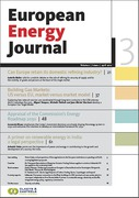 Cover of European Energy Journal: Print Only