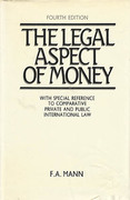 Cover of The Legal Aspect of Money 4th ed